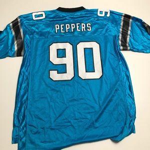 Carolina Panthers Julius Peppers NFL Jersey XL